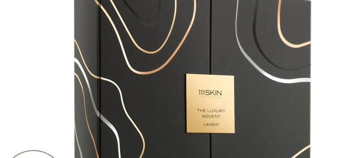 111Skin Luxury Advent Calendar 2021: 12 Brand Favorites + Full Spoilers!