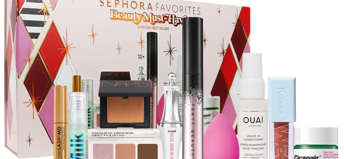 New Sephora Favorites Holiday Makeup Must Haves Set!