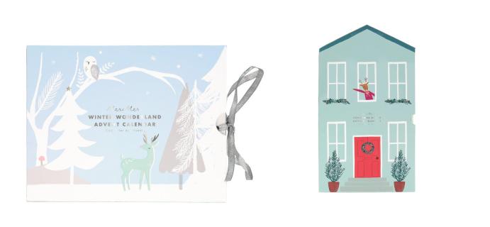 Meri Meri Paper Craft Advent Calendars: Winter Wonderland & Festive House!