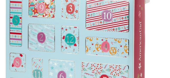 American Girl 2021 Advent Calendar: A Dozen Delicious Days Countdown Set!