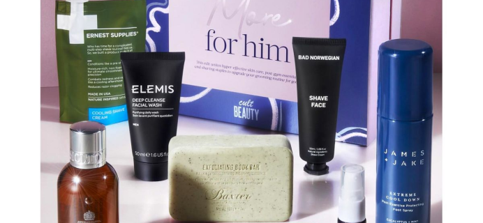 The Cult Beauty More for Him Edit: 9 Post Gym Essentials + Full Spoilers!