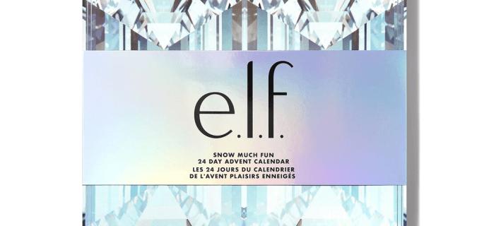 2021 elf Cosmetics 24 Day Advent Calendar: Snow Much Fun + Full Spoilers!