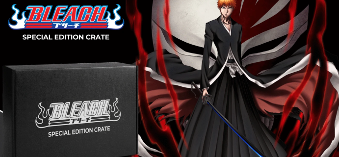 Loot Crate Bleach Special Edition Crate: Exclusive Collectibles and Apparel from Bleach!