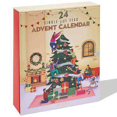 2021 Vahdam Tea Bag Advent Calendar: Season Exclusive Tea Blends!