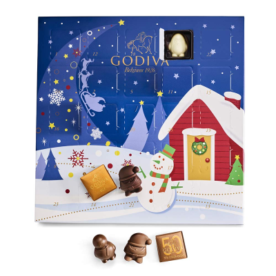 2021 Godiva Chocolate Advent Calendar: 24 Mini Chocolates + Full Spoilers!