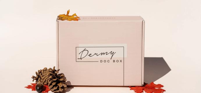 Dermy Doc Box Fall 2021 Full Spoilers + Coupon!
