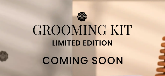 GLOSSYBOX Limited Edition Grooming Kit Coming Soon!
