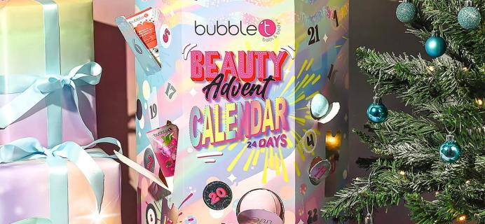 2021 Bubble T Advent Calendar: 24 Bestselling Bath Products!