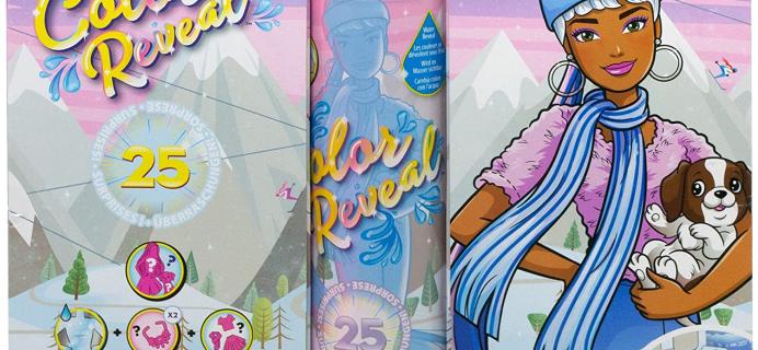 Barbie Color Reveal Advent Calendar 2021: 25 Surprises Including A Color Reveal Doll + Spoilers!