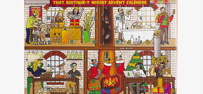 2021 That Boutique-y Whisky Advent Calendar: 24 Miniature Whiskeys + Full Spoilers!