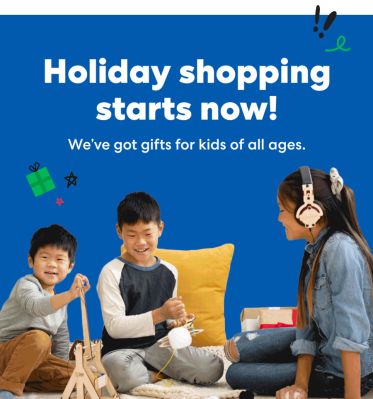 KiwiCo Early Gifting Sale: Holiday Shopping Starts Early With $15 Off Subscriptions!