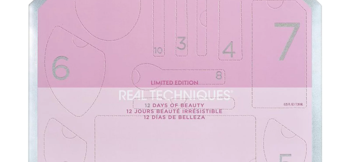 2021 Real Techniques Advent Calendar: 12 Days of Beauty Kit + Full Spoilers!