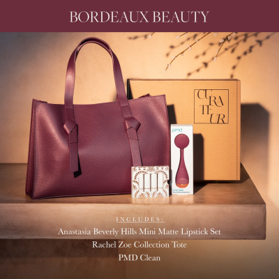 New CURATEUR Fall 2021 Welcome Box: Bordeaux Beauty Box for $40!