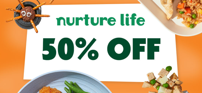 Nurture Life Spooky Flash Sale: Get 50% Off Your First Week of Healthy Kids Meals!