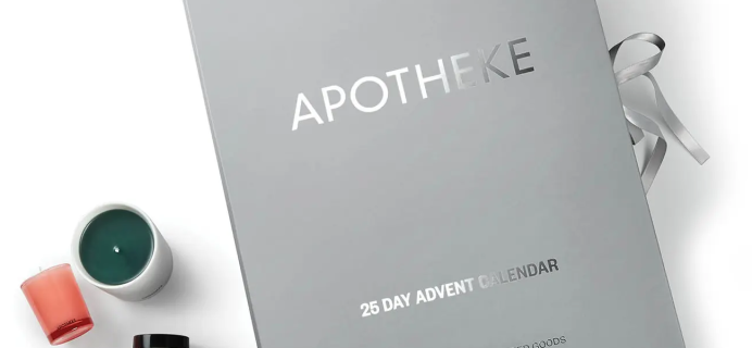 2021 Apotheke 25 Day Advent Calendar: 25 Candles, Ornaments, Bath Products + Full Spoilers!