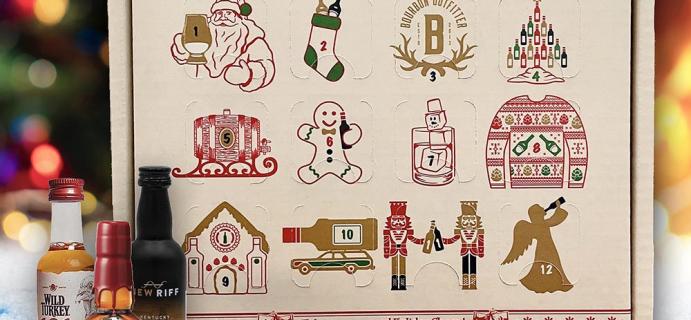 2021 Bourbon Outfitter Advent Calendar: 12 Mini Bourbon Bottles!
