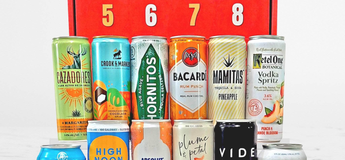 2021 Canned Cocktail Advent Calendar: 12 Top Notch Cocktails + Spoilers!