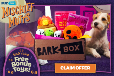 BarkBox Deal: FREE Toy in EVERY Box + Mischief Mutts Box!