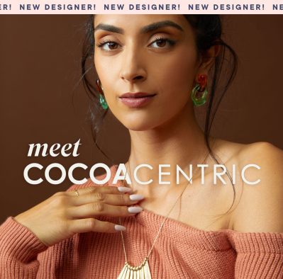 New RocksBox Designer Collection: COCOACENTRIC!