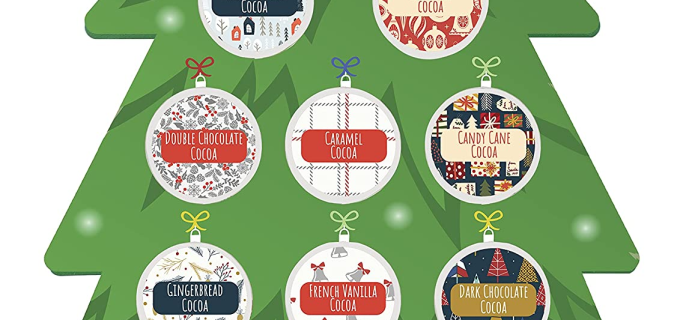 2021Christmas Cocoa K Cups Advent Calendar: 12 Hot Chocolate Cups For Christmas + Full Spoilers!