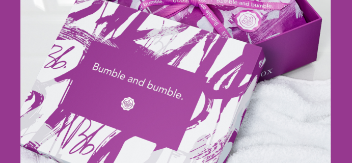 2021 GLOSSYBOX Limited Edition Bumble and Bumble Box: 5 Hair Care Products + Full Spoilers!