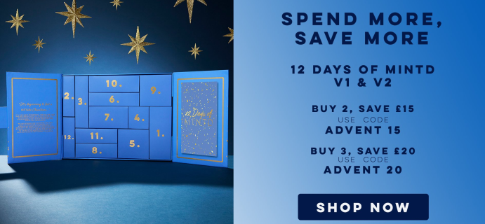 MINTD's 12 Days Of MINTD Advent Calendars: Filled With Skincare Must Haves + Full Spoilers!