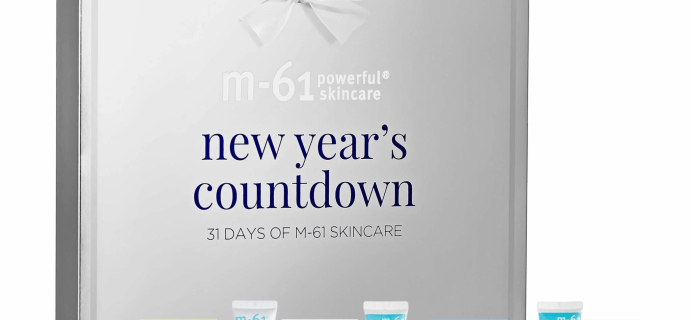 Blue Mercury M-61 New Year's Countdown Calendar: New Year Skin Reset!