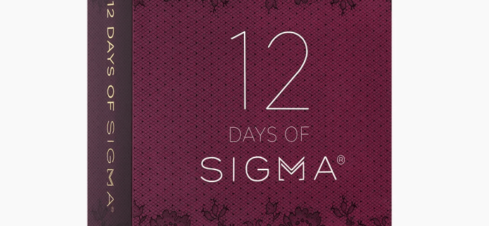 Sigma Beauty Advent Calendar 2021: 12 Days of Sigma Beauty + Full Spoilers!