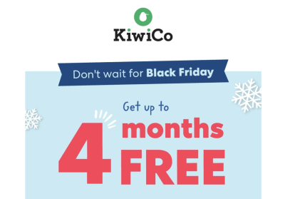 KiwiCo Trick or Treat Sale: Up to $30 Off Subscriptions!