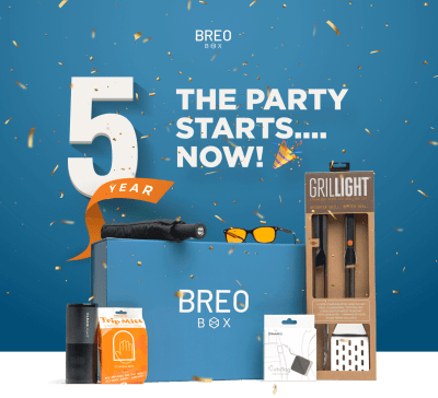 Breo Box 5th Anniversary Flash Sale: $50 Off OR FREE Gift – TODAY ONLY!