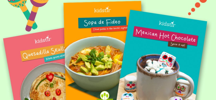 KidStir Kids Cooking Kit October 2021: Dia De Los Muertos!