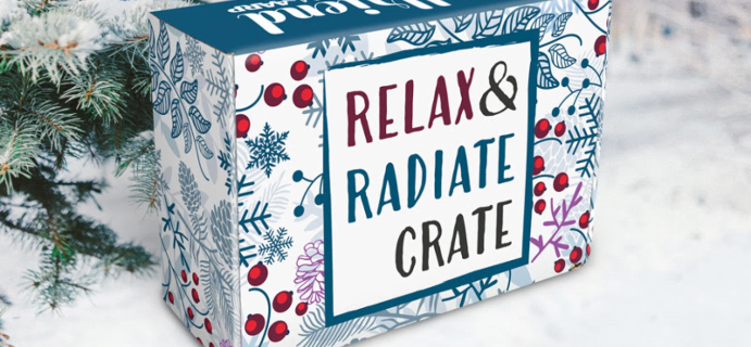 Relax & Radiate Crate Winter 2021 Theme Spoilers!