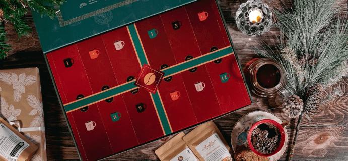 2021 Bean Box Advent Calendar: Twelve Mornings of Coffee!