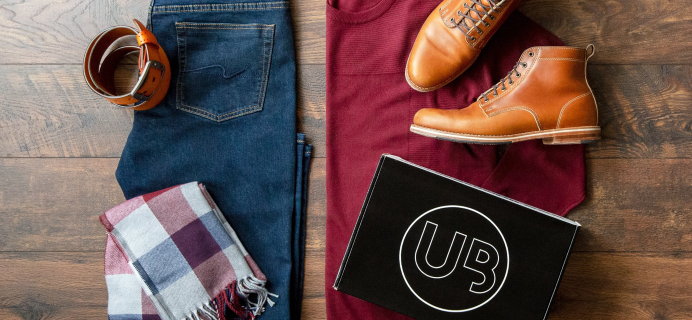 UrbaneBox Fall Sale: First Box For Just $35!