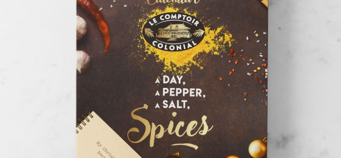 Le Comptoir Colonial Spice Advent Calendar Is Here: 24 Savory and Sweets Spices!
