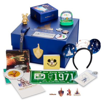 shopDisney Walt Disney World 50th Anniversary Box: The World's Most Magical Celebration!