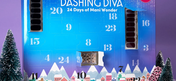 2021 Dashing Diva Advent Calendar: 24 Days of Mani Wonder + Full Spoilers!