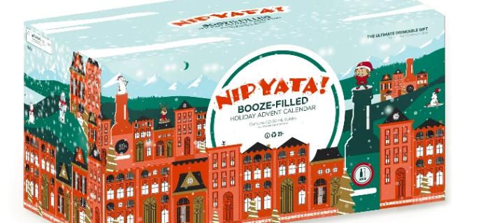 NIPYATA Boozy Advent Calendar 2021: 12 Shots of Christmas + Full Spoilers!