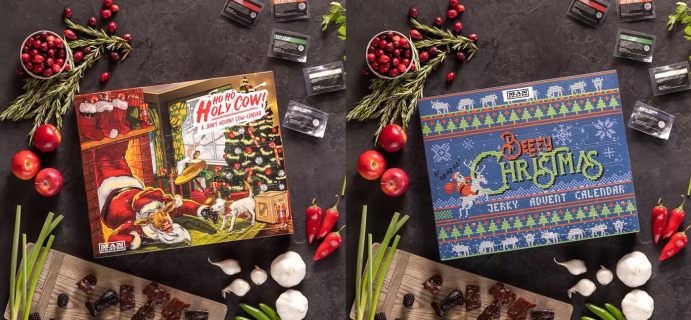 2021 Man Crates Jerky Advent Calendars: Christmas Sweater and Ho Ho Holy Cow + Full Spoilers!
