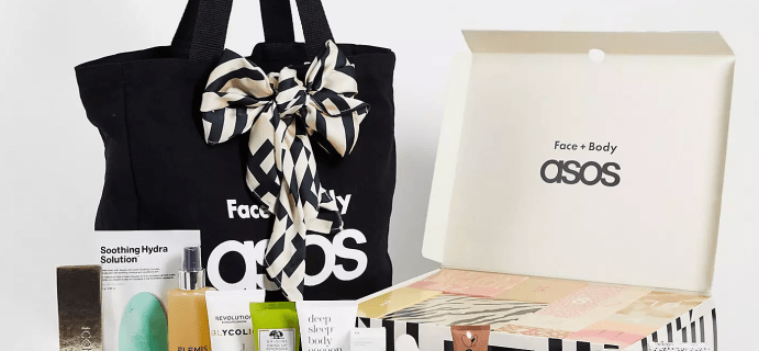 ASOS Beauty Advent Calendar 2021: 24 Face and Body Products!