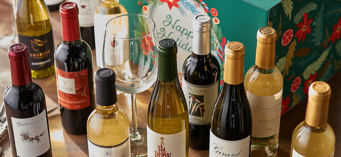 2021 Vintage Wine Estates Advent Calendar: 12 Mini Wine Bottles + Full Spoilers!