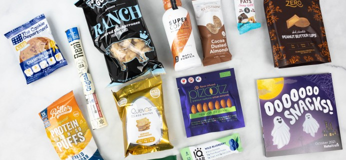 KetoKrate October 2021 Subscription Box Review + Coupon