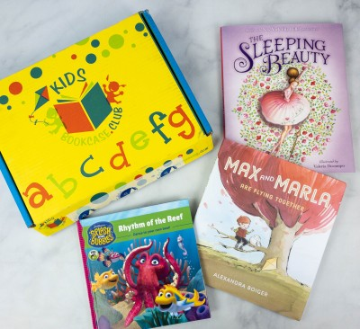 Kids BookCase Club September 2021 Subscription Box Review + 50% Off Coupon! GIRLS 5-6 YEARS OLD