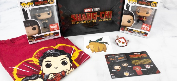 Marvel Collector Corps Review – SHANG-CHI AND THE LEGEND OF TEN RINGS – September 2021