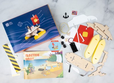 MEL Kids Review + Coupon – ELECTRIC BOAT