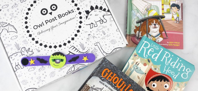 Owl Post Books Box Review + Coupon – October 2021