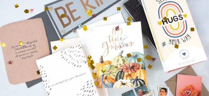 Postmark'd PostBox October 2021 Subscription Review + Coupon