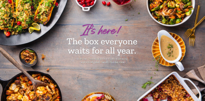 The 2021 Purple Carrot Thanksgiving Box: Plant Based Holiday Meal!