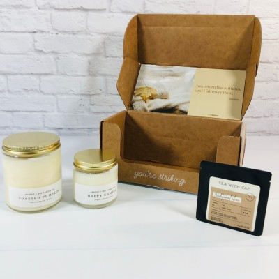 Vellabox Candle Subscription Box Review + Coupon – October 2021