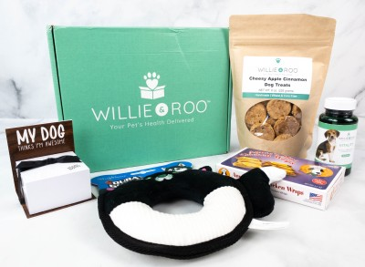 Willie & Roo Dog Subscription Box Review + Coupon – October 2021
